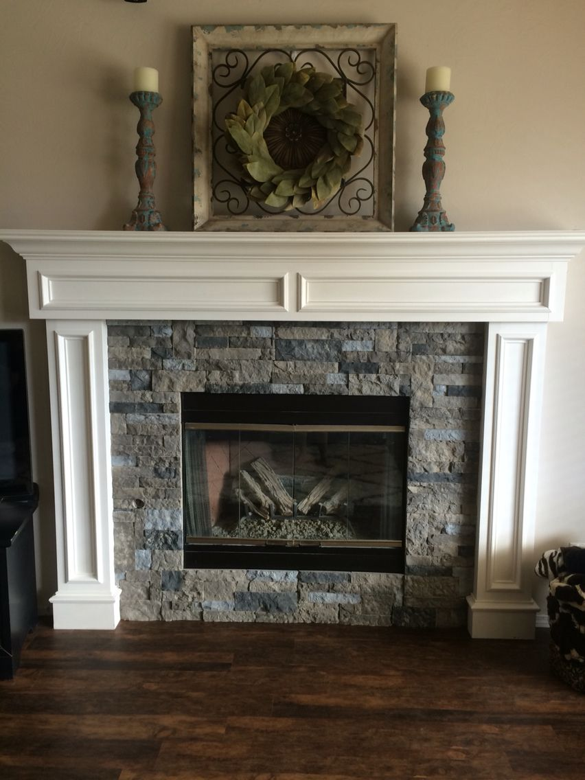 airstone fireplace spring creek color