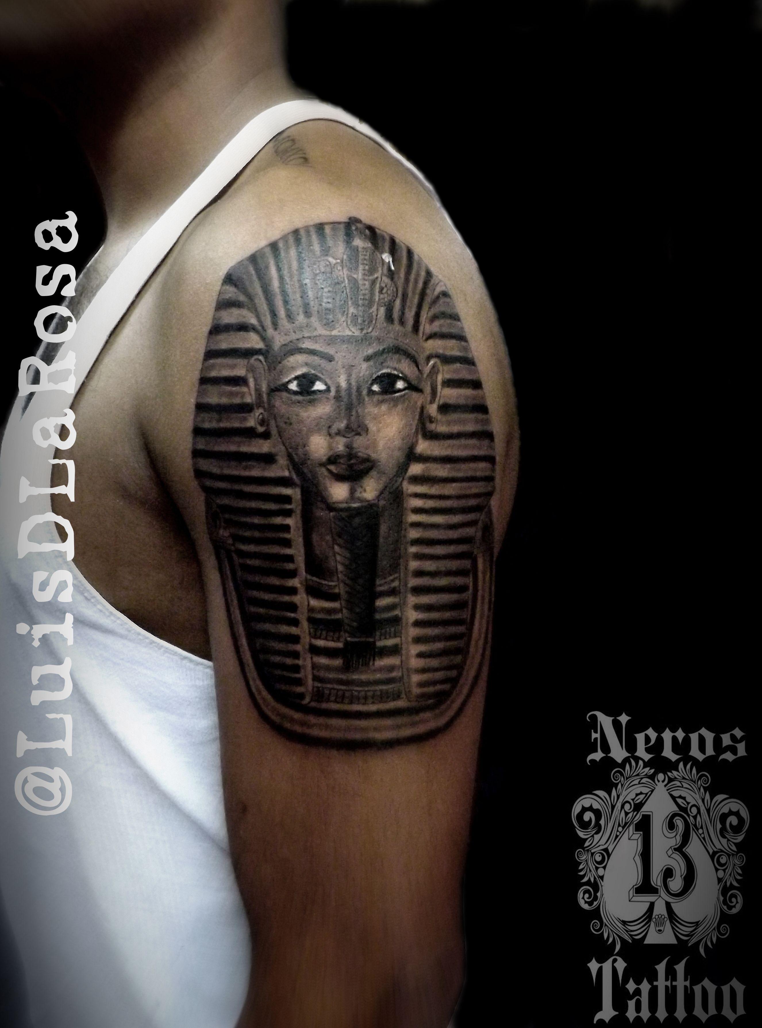#faraontattoo #egiptattoo #armtattoo #perutatto #luisdlarosa #nerostattoo #perutattoo #peruart #artperu #peruartist