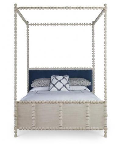 St. Tropez Canopy Bed | Mr. Brown  sc 1 st  Pinterest & St. Tropez Canopy Bed | Mr. Brown | Beach House Bedroom ...