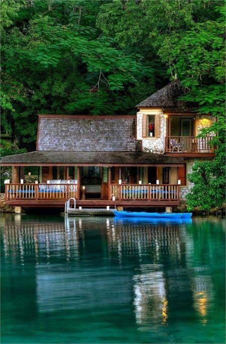 Goldeneye Hotel Resort Jamaica Case Sul Lago Case Da Sogno