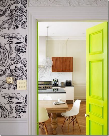 crazy lime & like the kitchen