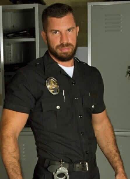 hot sexy nude cops