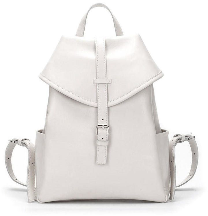 0f64a4c25095 Asya Malbershtein Little beige leather backpack on shopstyle.co.uk ...