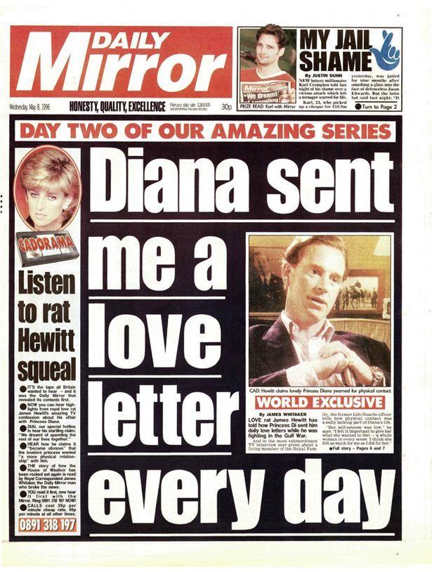 Daily Mirror, Wednesday May 8th 1996 (615×814) Retro