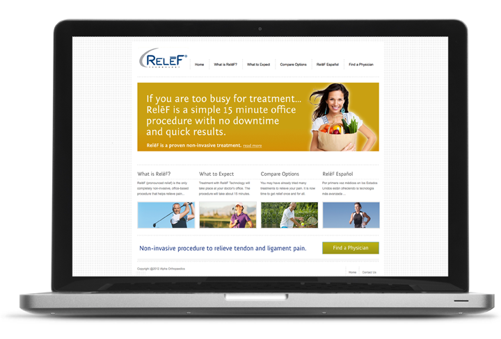 RELĒF Website (With images) Website, Mobile web, Relieve
