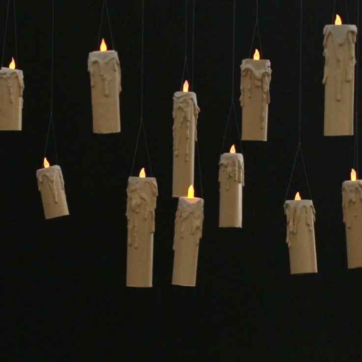 Make These Floating Candles For You Halloween Soir