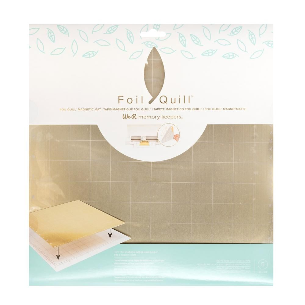 Foil Quill Magnetic Mat 12 X 12 For Cameo Cricut We R Memory Keepers Memory Keepers Foil