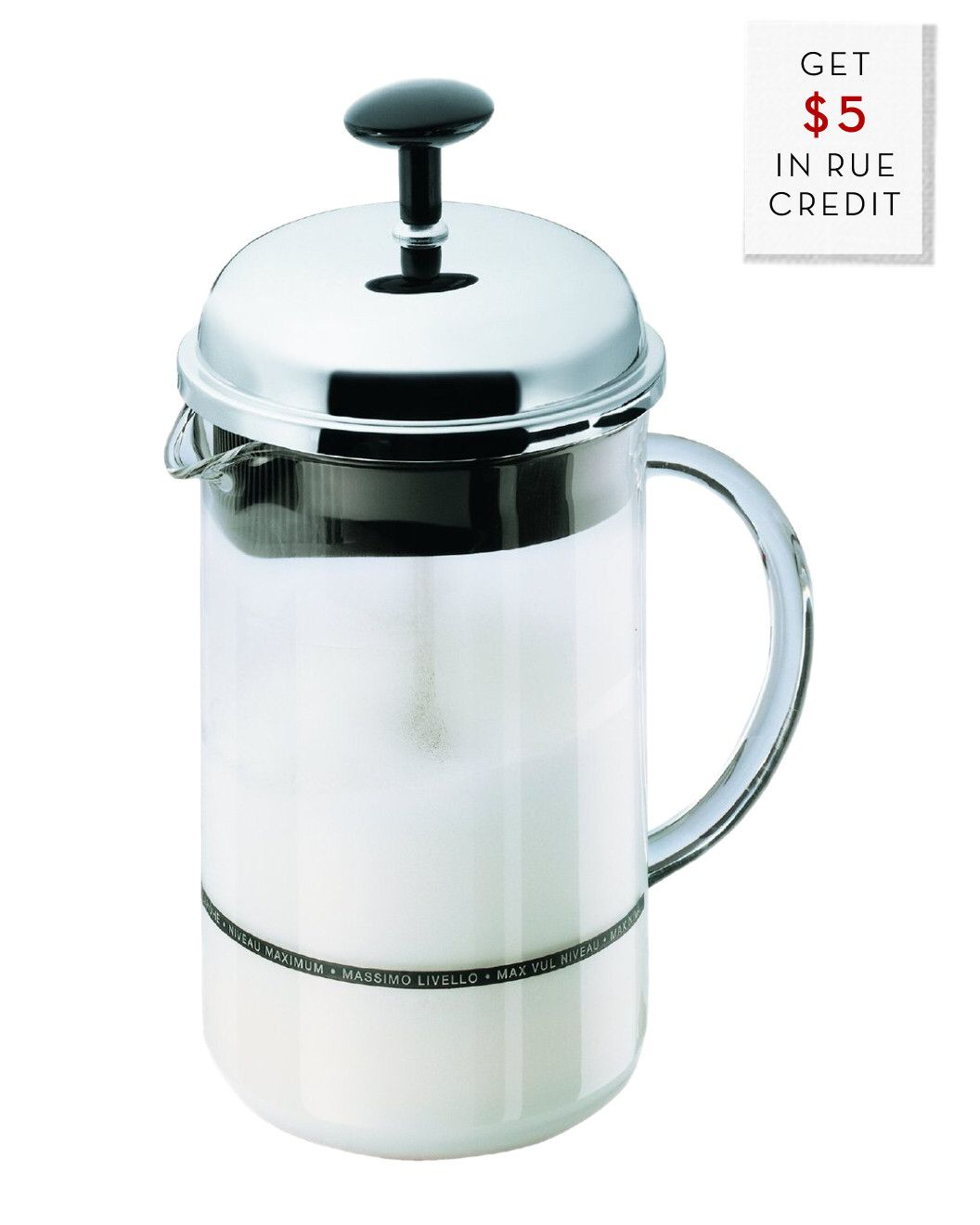 You need to see this Bodum 8oz Milk Frother on Rue La La Get in and