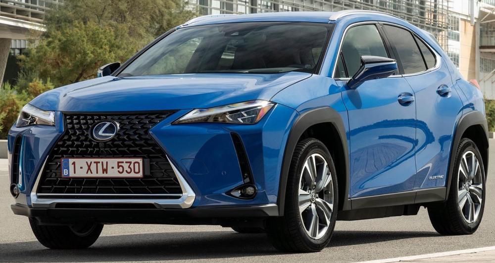 لكزس يو أكس 300 إي 2021 الجديدة كليا الفخامة اليابانية الكهربائية موقع ويلز Lexus Car Bmw
