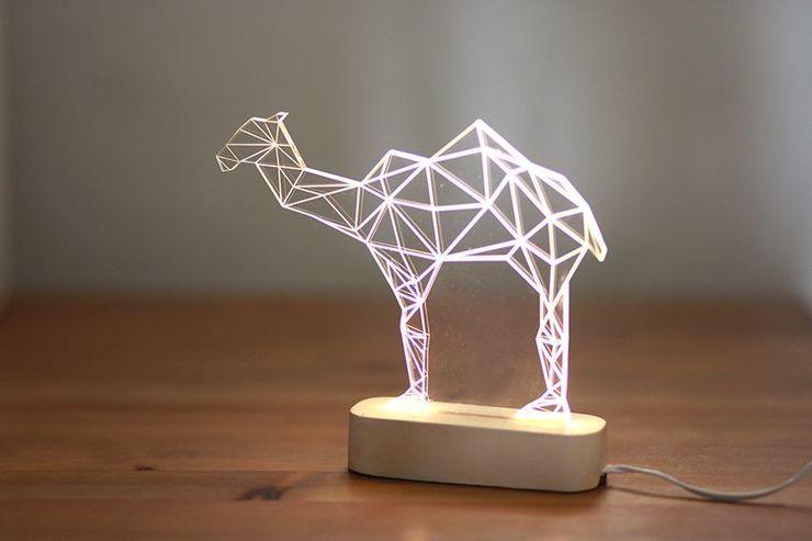 iLLuminite, Geometric Led Lamps By Sturlesi Design http://designwrld.com/illuminite-geometric-led-lamps-by-sturlesi-design/