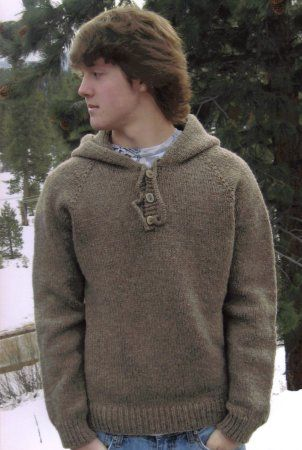 Knitting Pure and Simple Men's Sweater Patterns - 105 - Neckdown ...