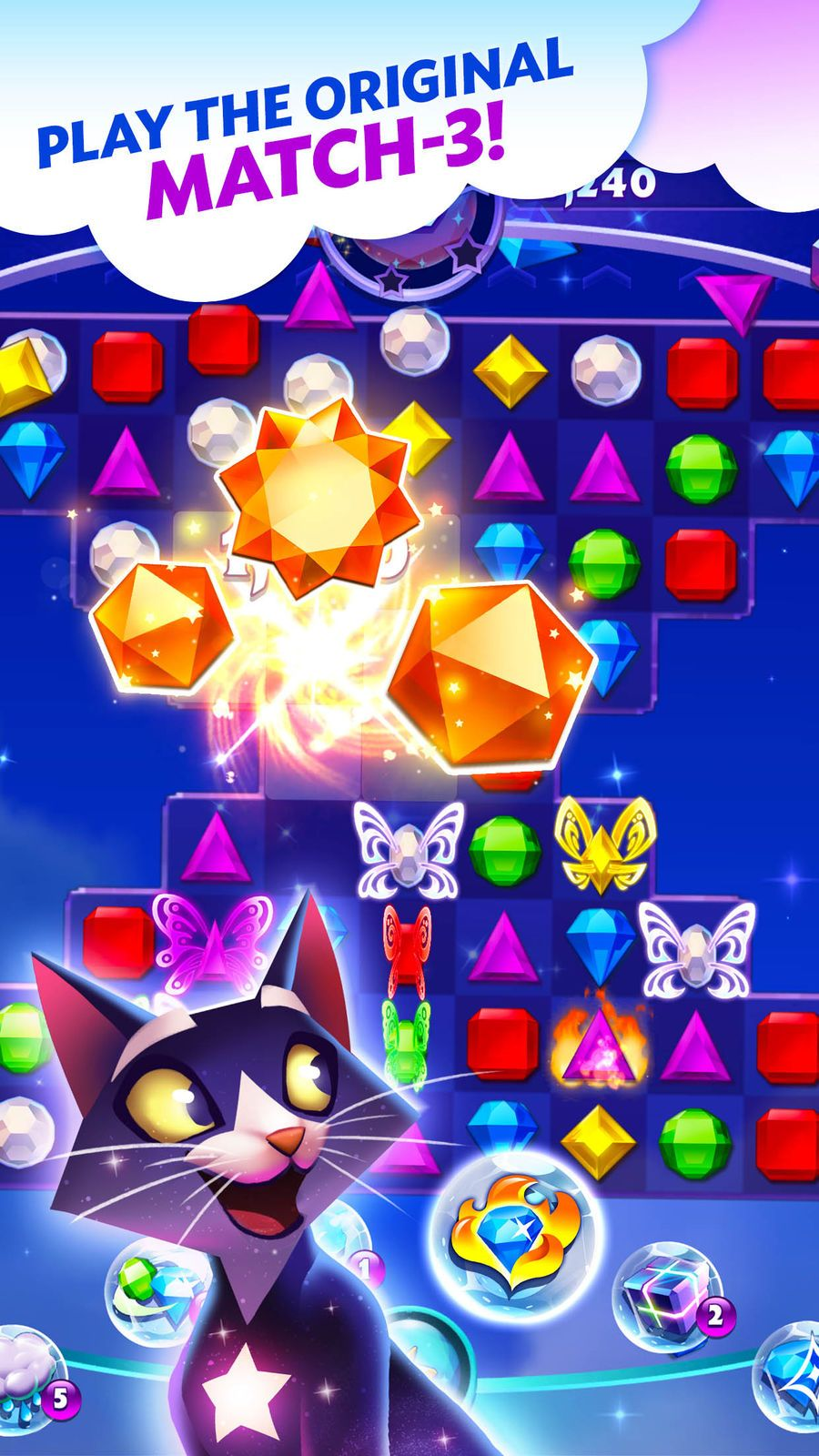 Bejeweled Stars PuzzleEntertainmentiosArcade Good