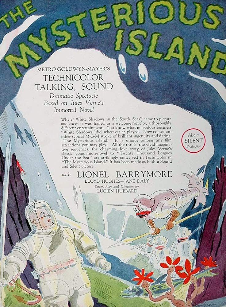 The Mysterious Island (1929) a bit of sound and a bit of