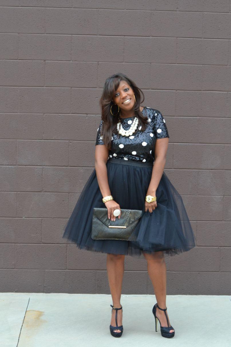 Tulle skirt holiday party looks ideias inspiradoras pinterest