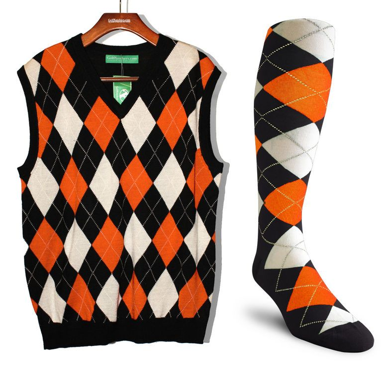 Argyle Sweater Vest & Sock Set (same colors) | Share your very ...