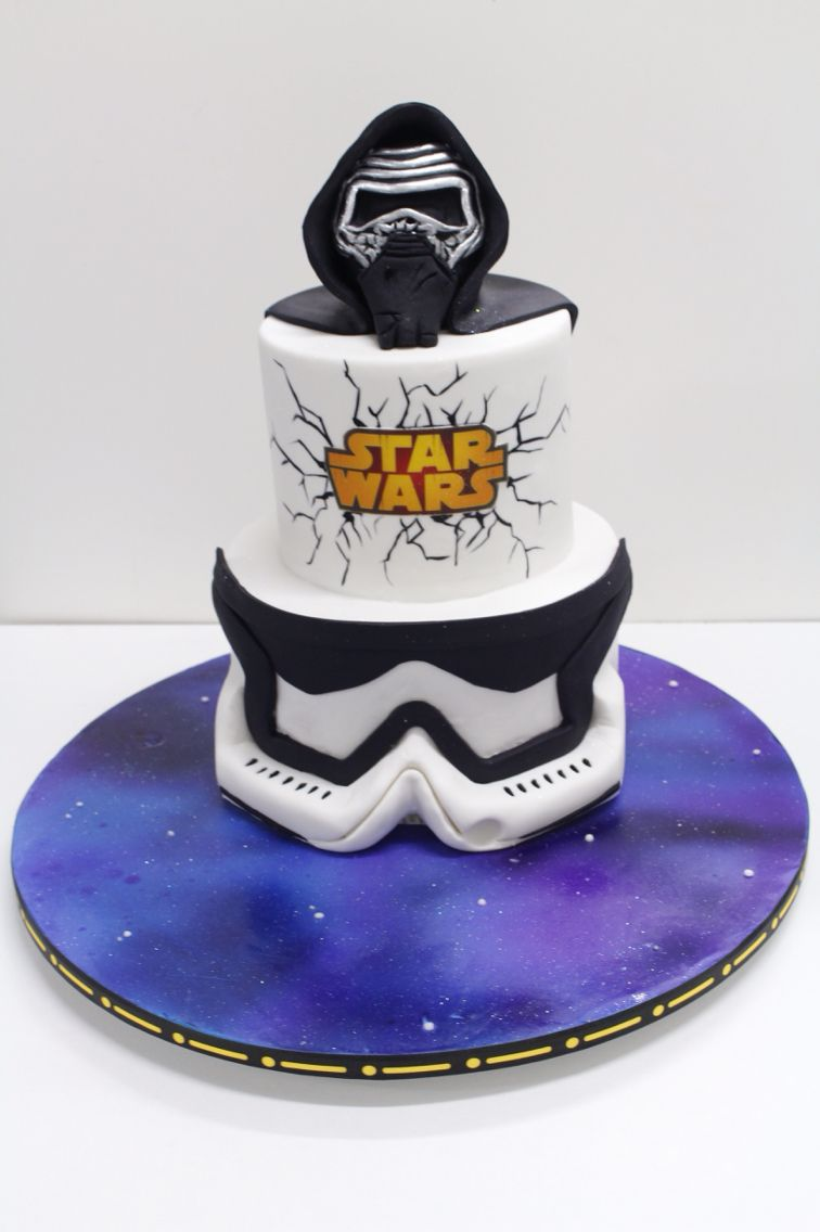 Kylo Ren Cake Ideas Star Wars Birthday Cake Star Trek