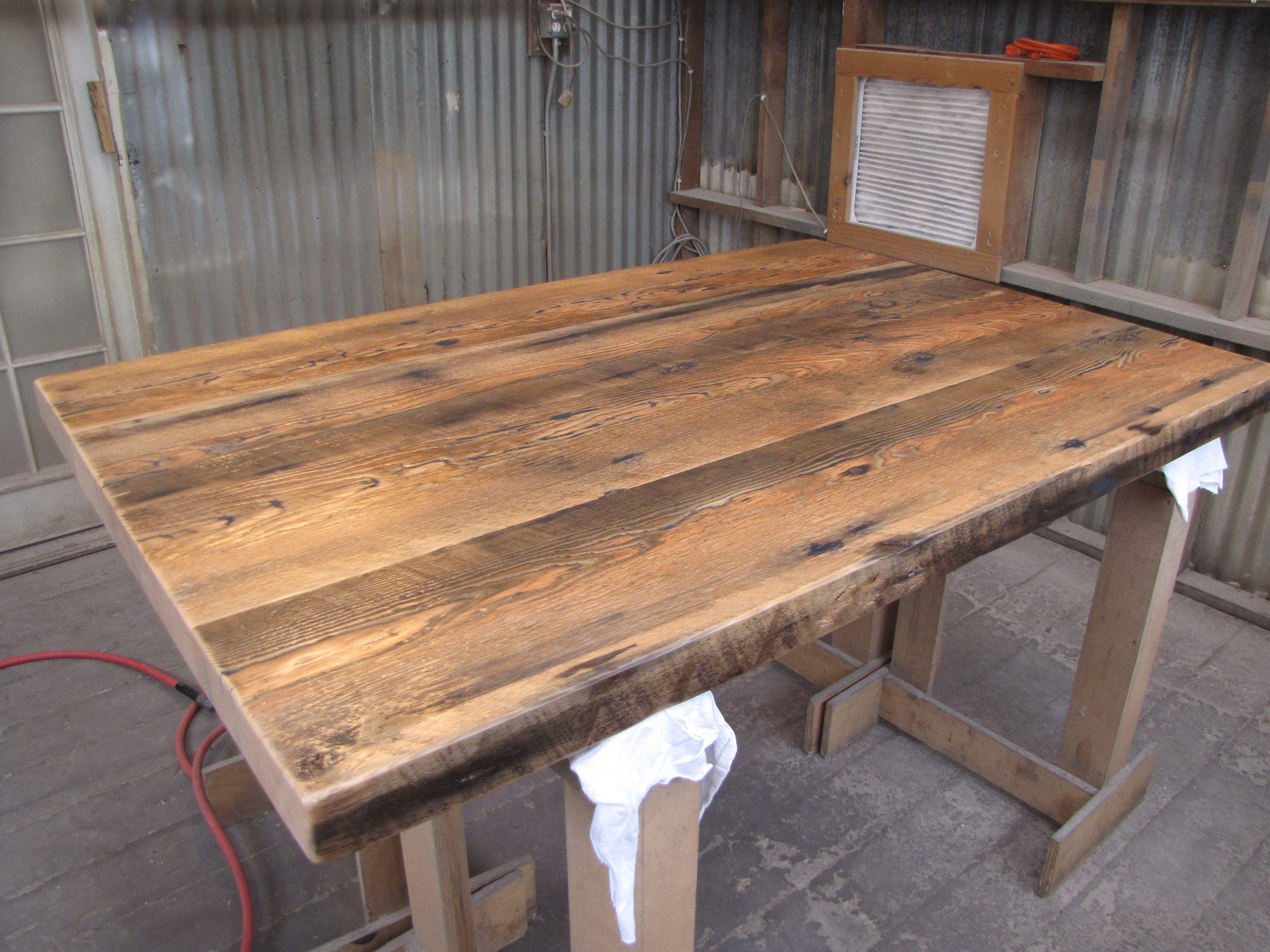 Old Growth Doug Fir Floor Joists. Wood TablesFirs