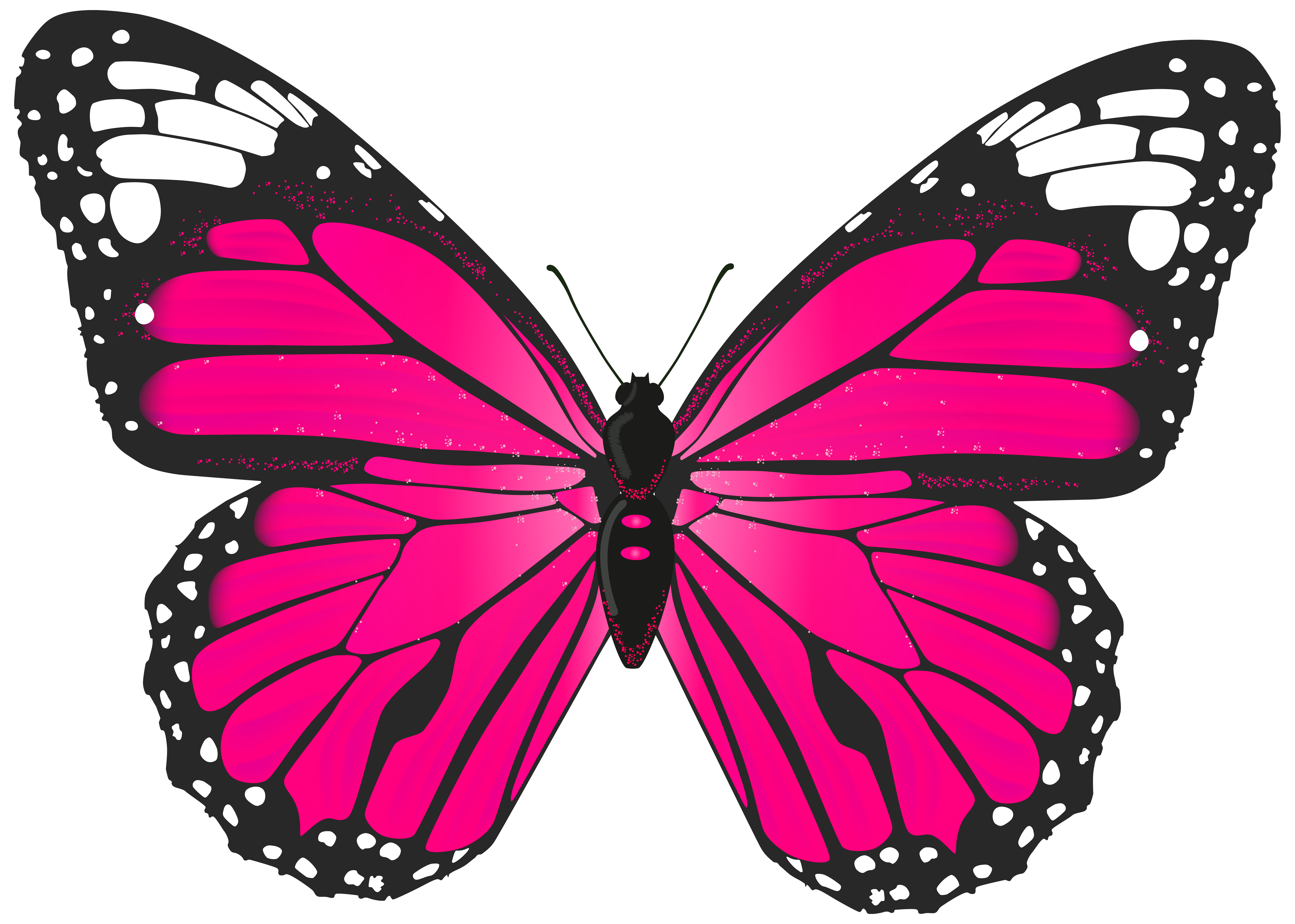 Pink Butterfly Png Transparent Clip Art Image Gallery Yopriceville High Quality Images And Transparent Butterfly Clip Art Butterfly Art Butterfly Painting