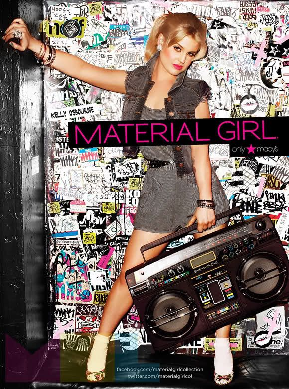 Kelly Osbourne Macy S Material Girl Clothing Line Material