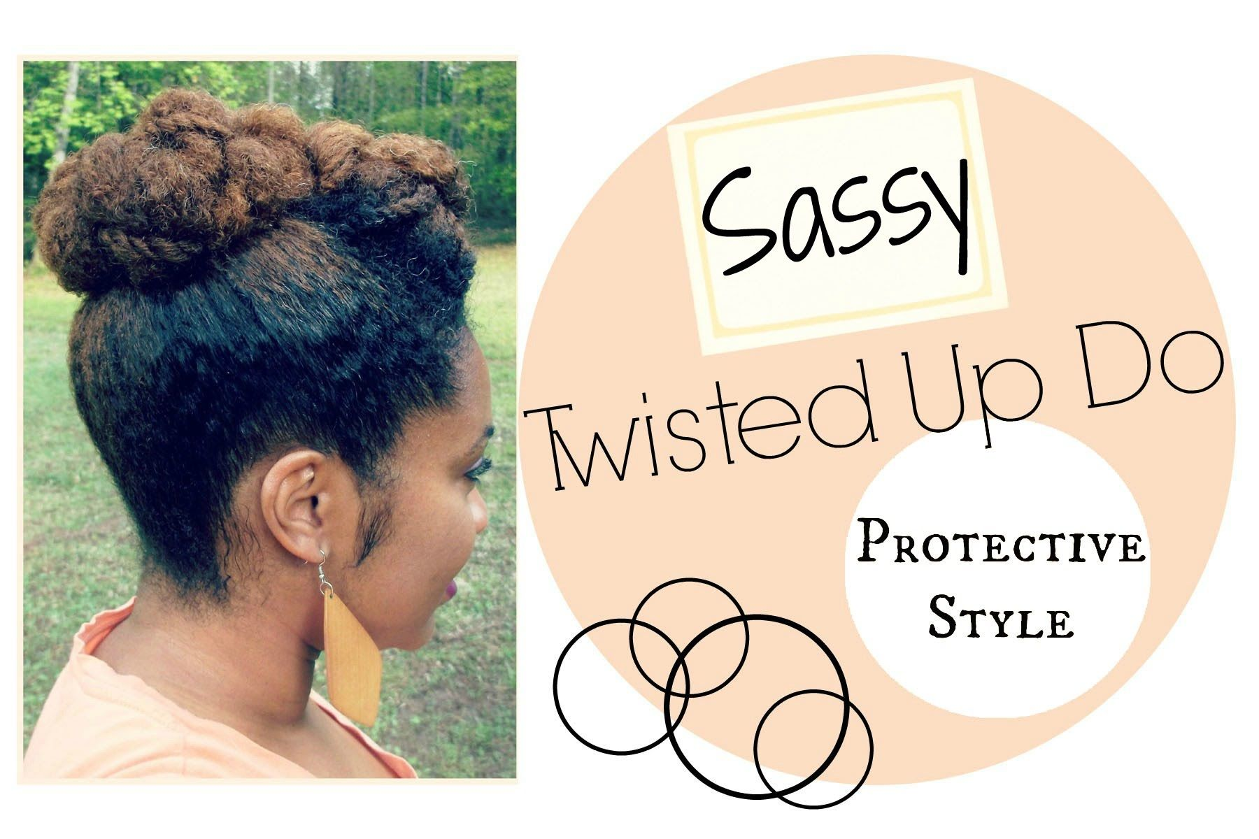 "Are you looking for something super chic & easy updo? This is letter ""S"" from the ABC Protective Style Series. Hope you enjoy! ABC Protective Style Introduct..."