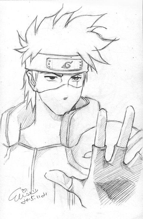 はたけカカシ はたけカカシ Narutoファンアート カカシ
