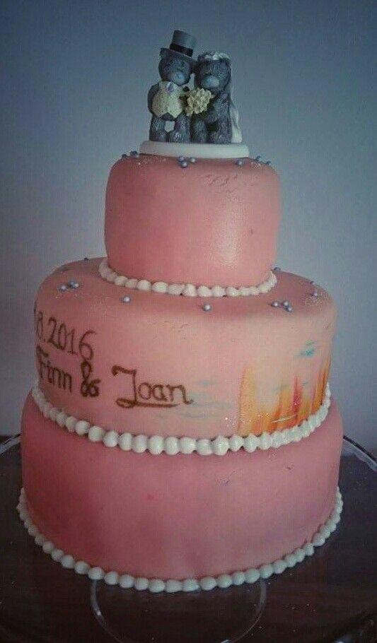Bryllups kage 20 personer