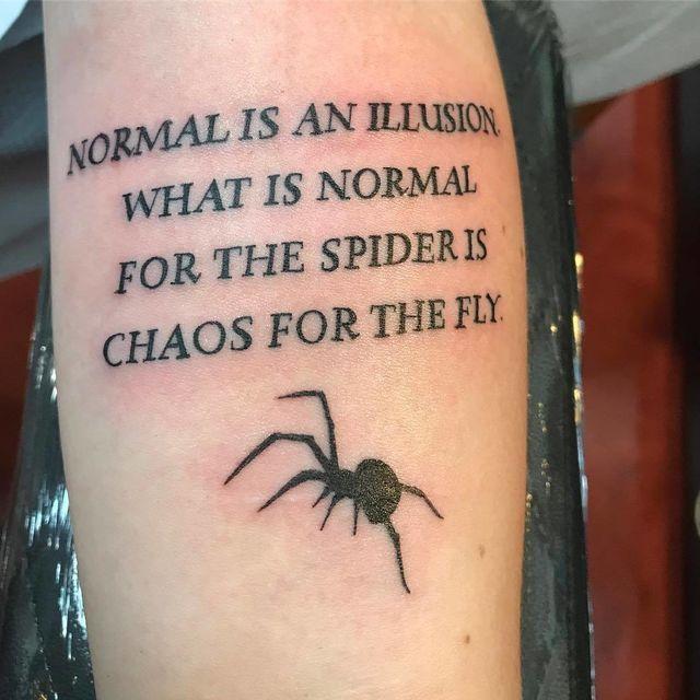 Even Morticia Addams' quotes make perfect tattoos!