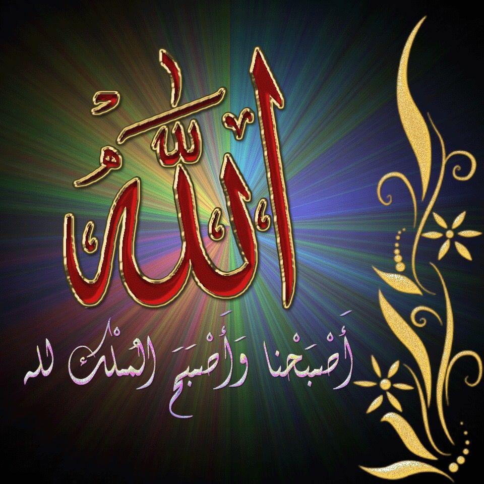Desertrose Beautiful Colorful Calligraphy Art الله سبحانه وتعالى Neon Signs Neon Islam