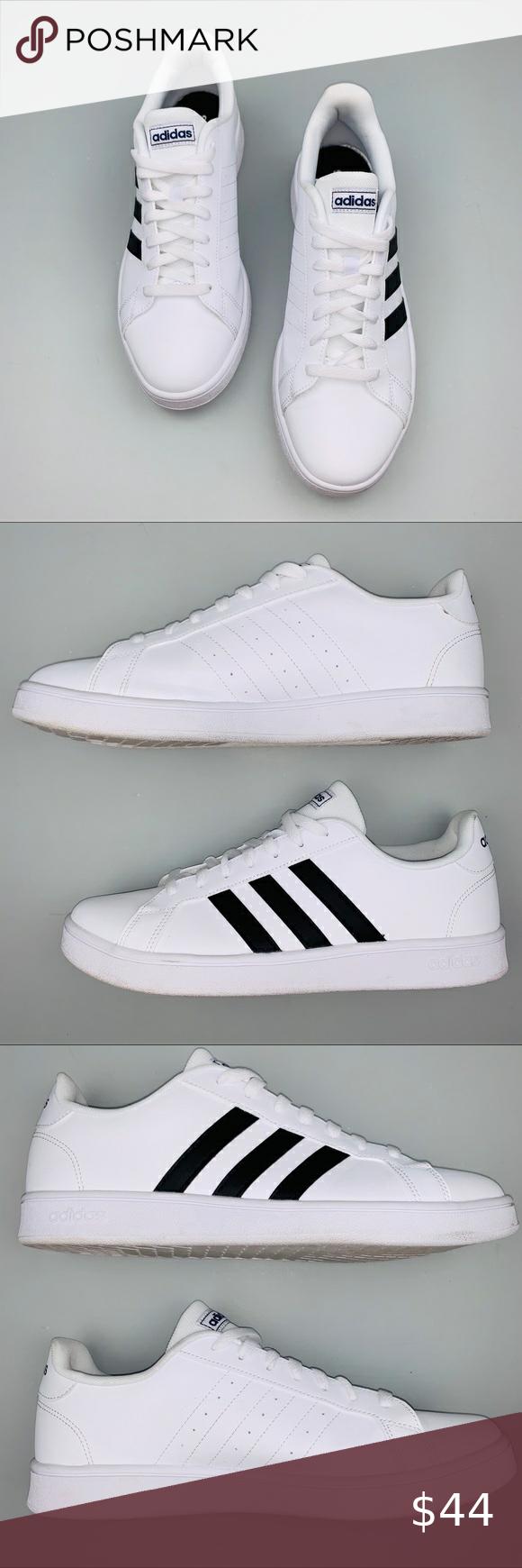 Adidas Men's Grand Court Sneakers White