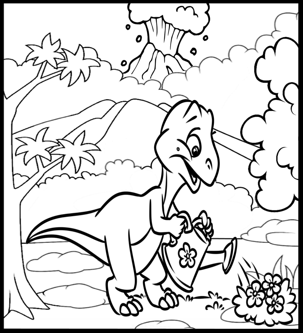 - Super-Fun Dinosaur Coloring Book For Boys And Girls, Packed With