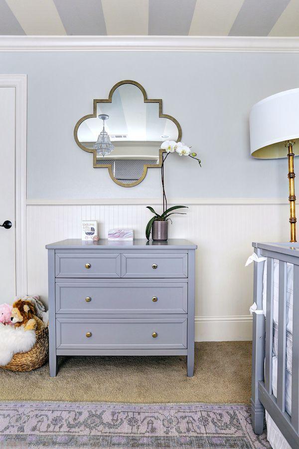 Baby Girl S Lavender Nursery Honey We Re Home Nursery