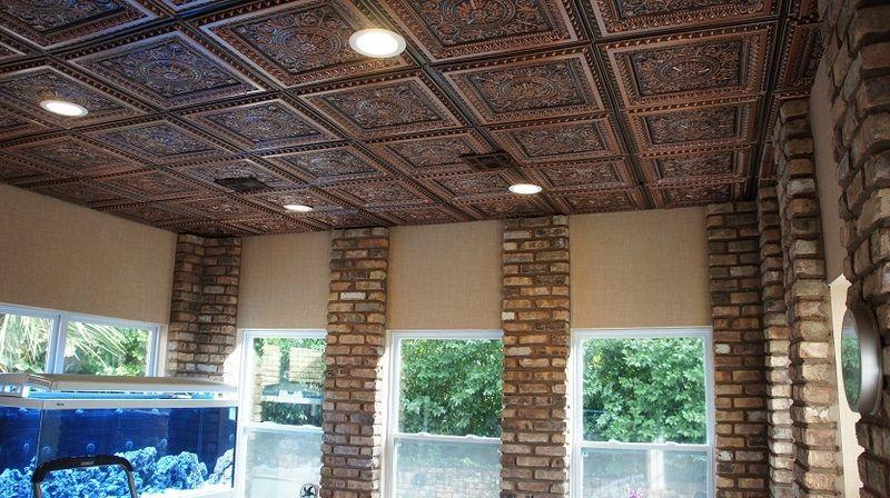 La Scala Faux Tin Ceiling Tile 24 In X 24 In 223 Faux Tin