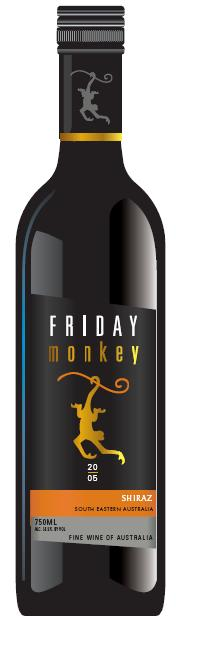Product Name: Friday Monkey    Appelation: Riverina    Variety: Wine    Country of origin: Australia