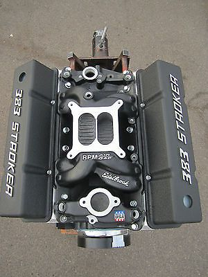 450 HP 383 Chevy Stroker Engine / Motor with Edelbrock heads | 2nd
