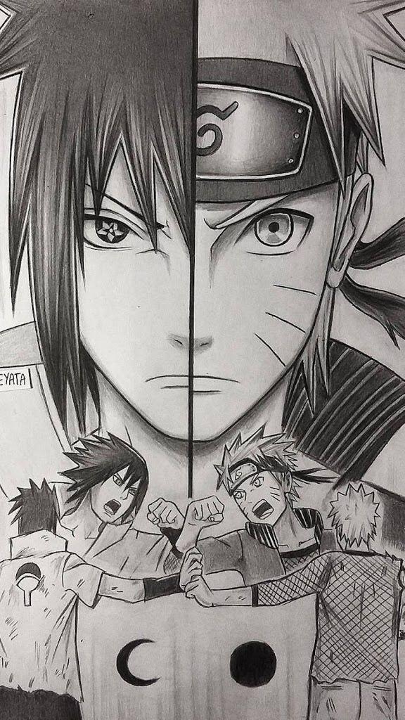 well naruto and sasuke art naruto sasuke naruto uzumaki