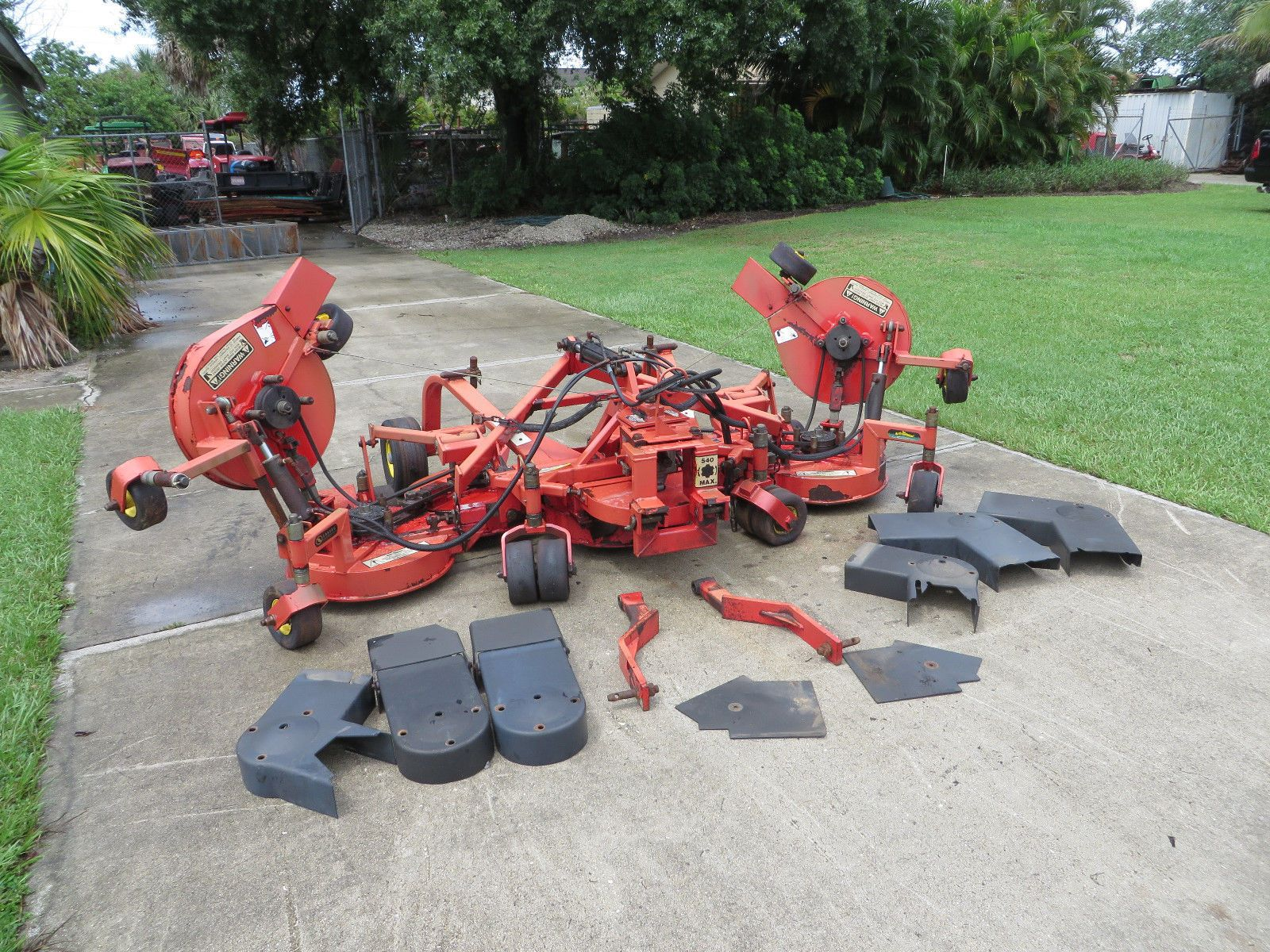 Lastec Articulator 721 XR Rotary Mower 11 ft Cut Tractor WAM