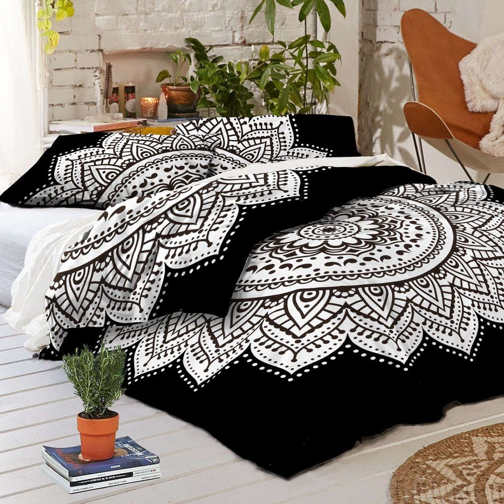 duvet white quilt style black ease queen bedding set piece donato with and