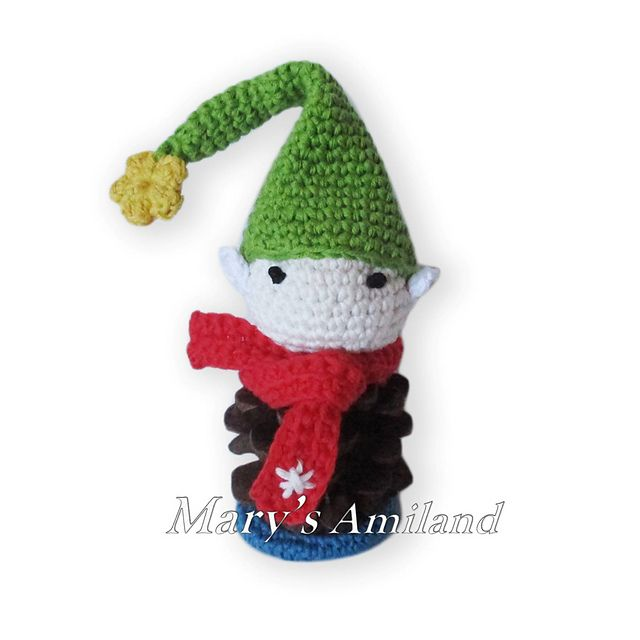 Ravelry: Pine Cone Elf pattern by Mary\'s Amiland | free pattern ...