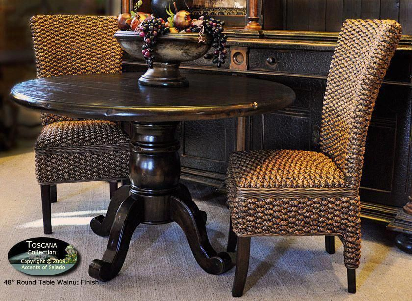 Dining Room Table X Long Extra Round Tuscany Style