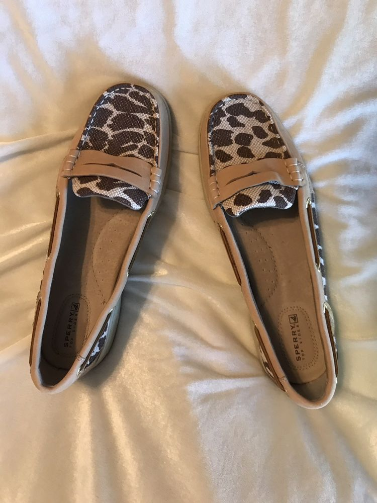 422d19d1c19 Womens sperry Pennyfish Loafer Leopard Print Canvas  fashion  clothing   shoes  accessories  womensshoes  flats (ebay link)
