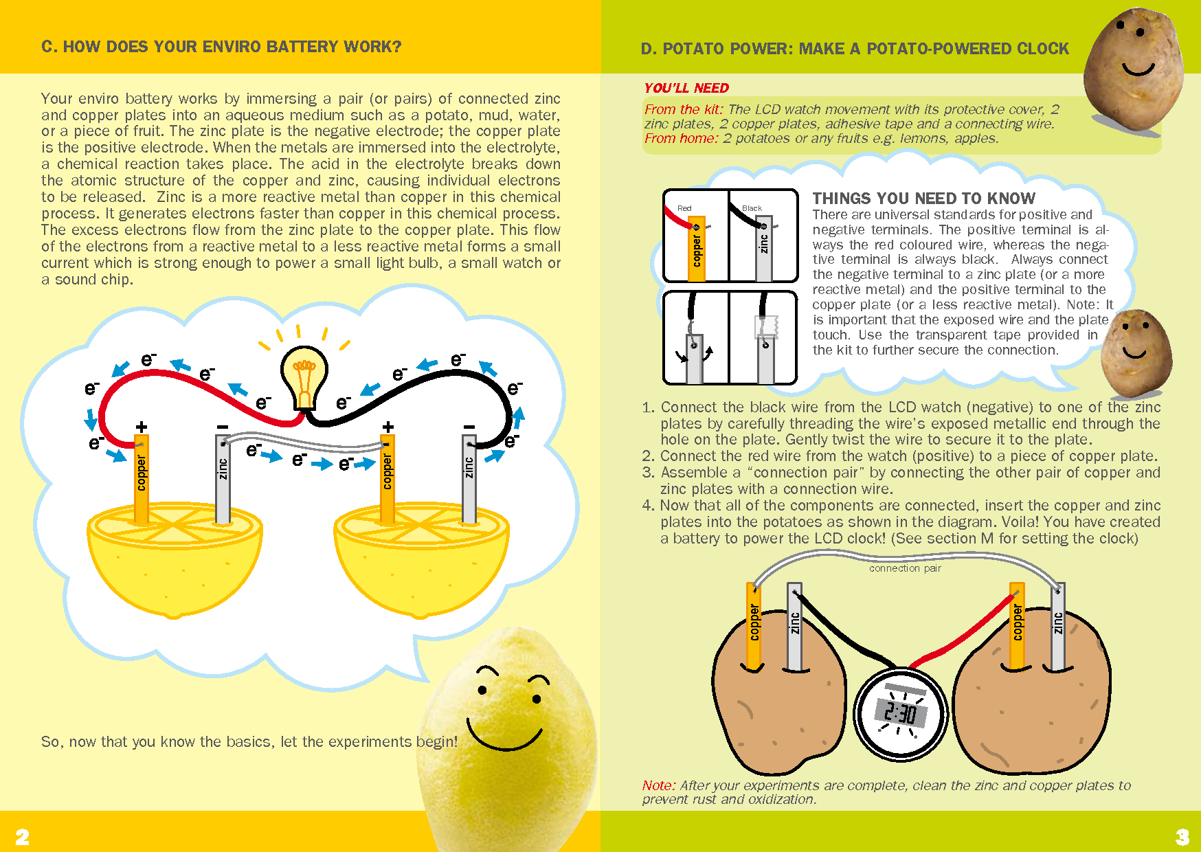 Image Result For Lemon Battery Science Fair Project
