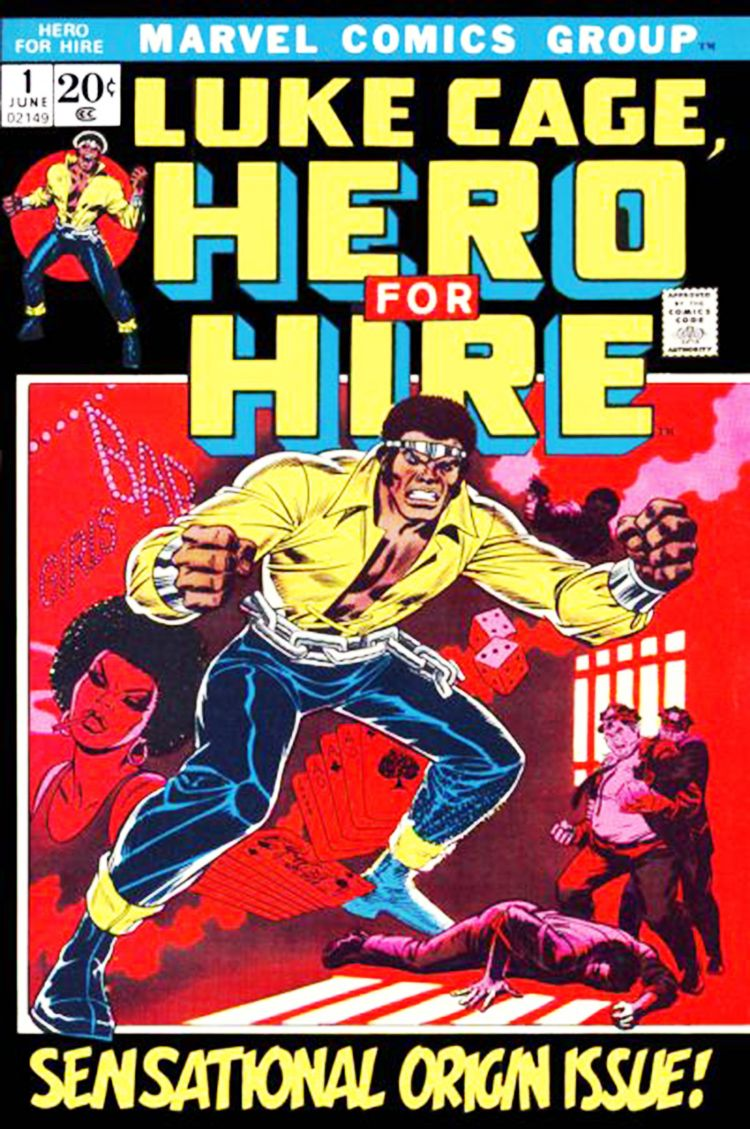 Luke Cage (aka Power man) first appeared in Luke Cage, Hero for Hire #1, June 1972.