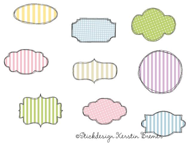 Button Doodle Stickdateien Set - KerstinBremer.de