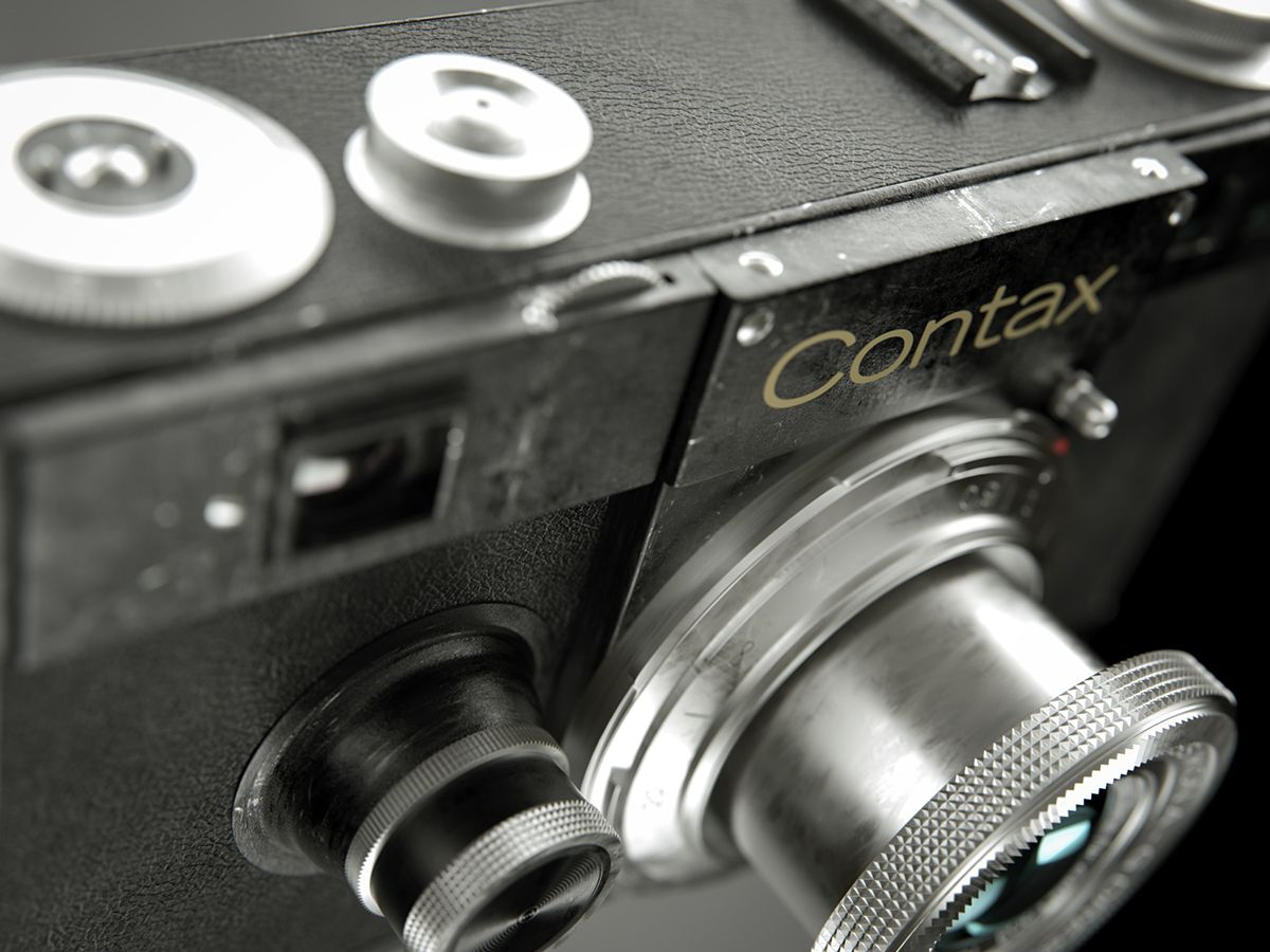 CONTAX I on Behance