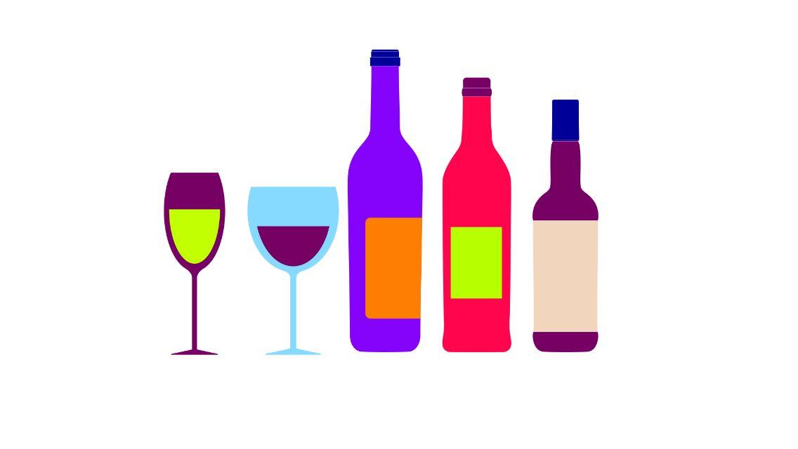 Drinks collection | Digital illustration | FourteenFifteen Design and Creative   Ask.fourteenfifteen@gmail.com