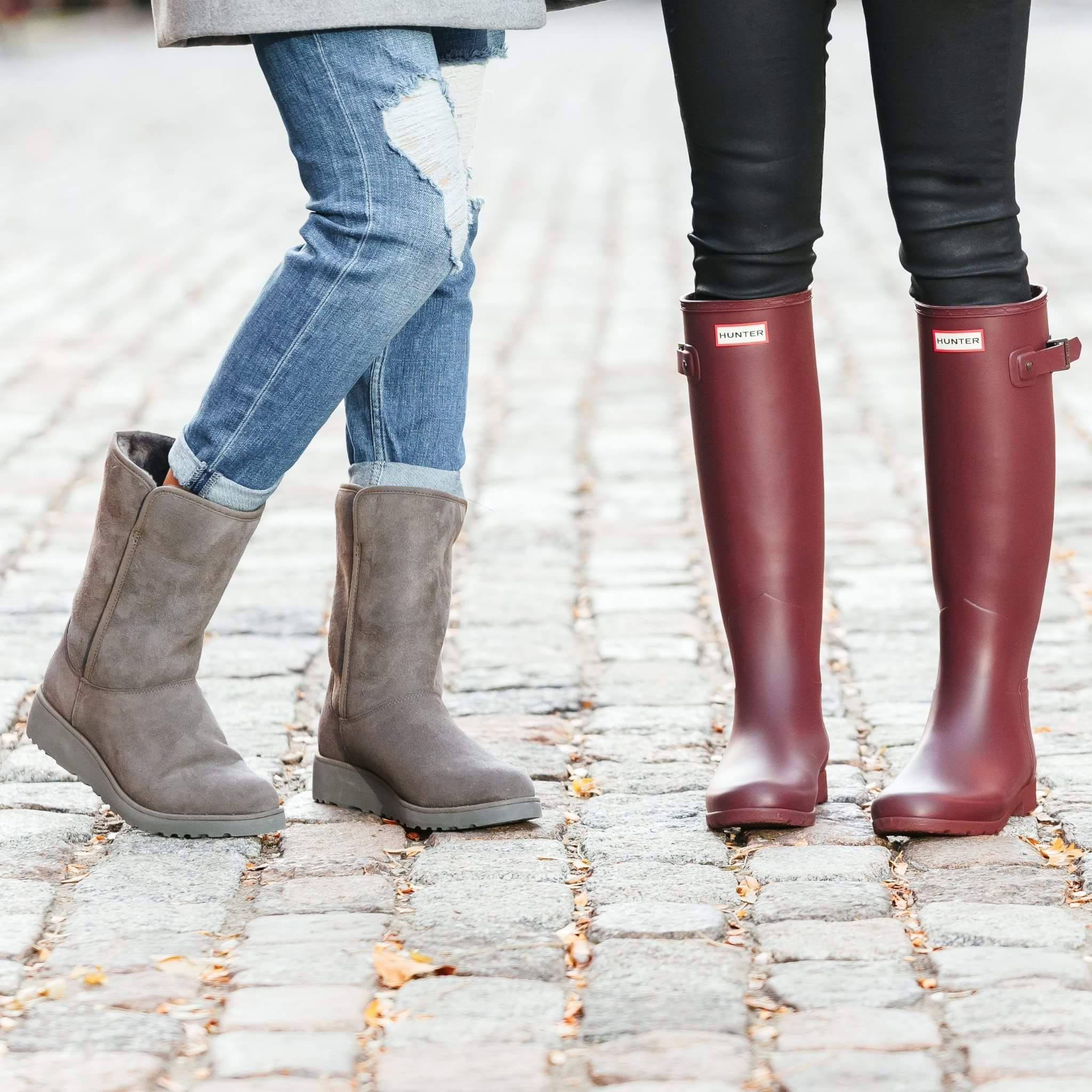 Burgundy Hunter boots (HBC)   Boots