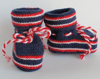 Вязание на спицах пинеток для грудничков