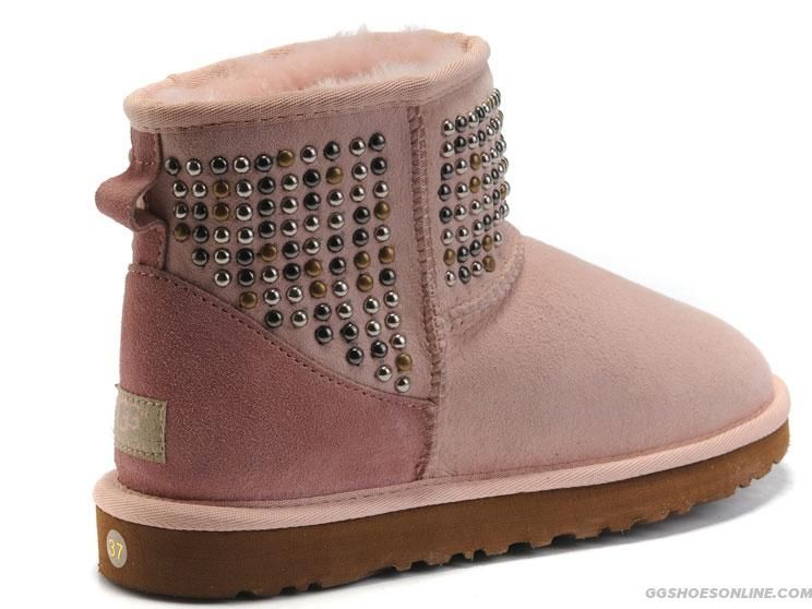 Ugg New Arrival 6818 Boots Pink Ugg Boots Boots Uggs