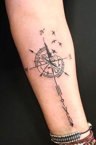 A Guide To Compass Tattoo With Cool Design Ideas  A Guide To Compass Tattoo With Cool Design Ideas