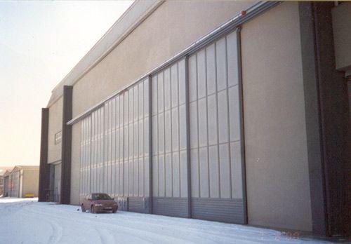 Aircraft Hangar Doors   Idea For Large Storage System